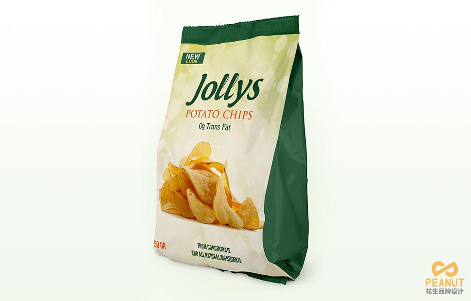广州薯片包装袋设计 广州包装设计公司-广州花