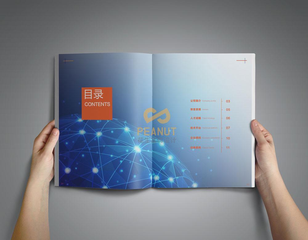 花生广州画册设计公司简述画册设计中色彩的作用