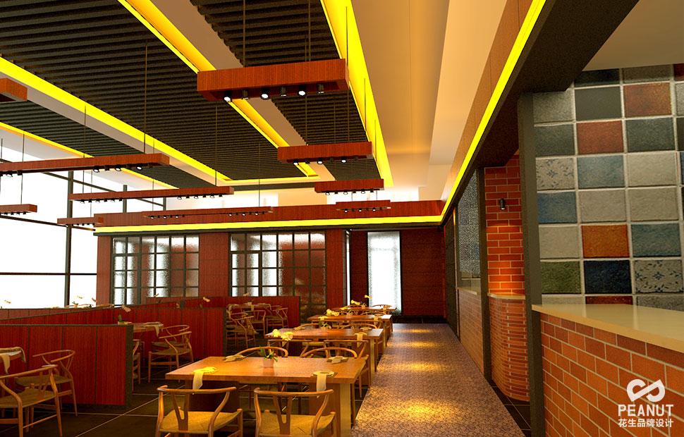 如何打造餐饮品牌VI设计|花生品牌设计