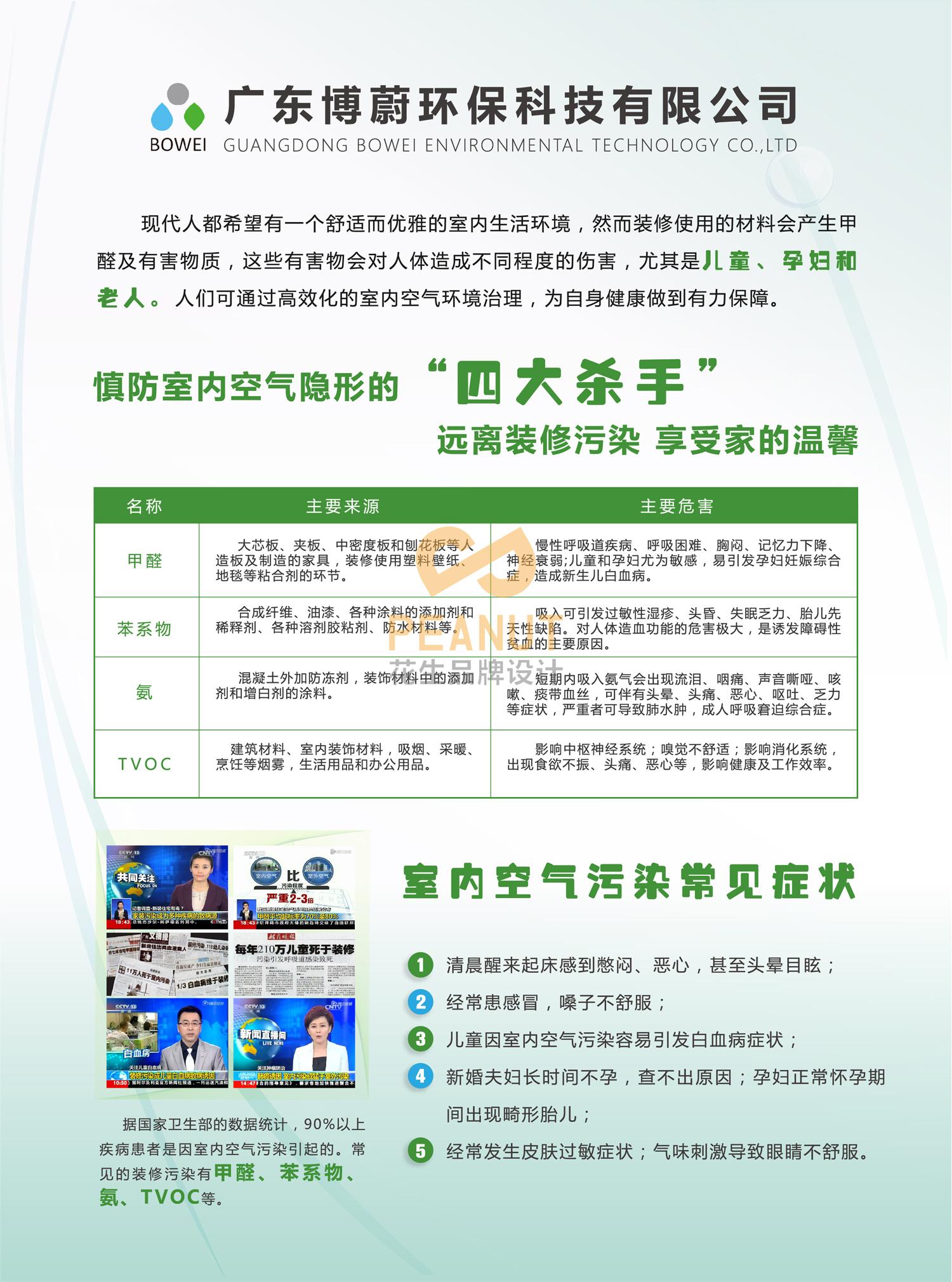 博蔚环保品牌设计 广州环保企业品牌设计-花生品牌设计